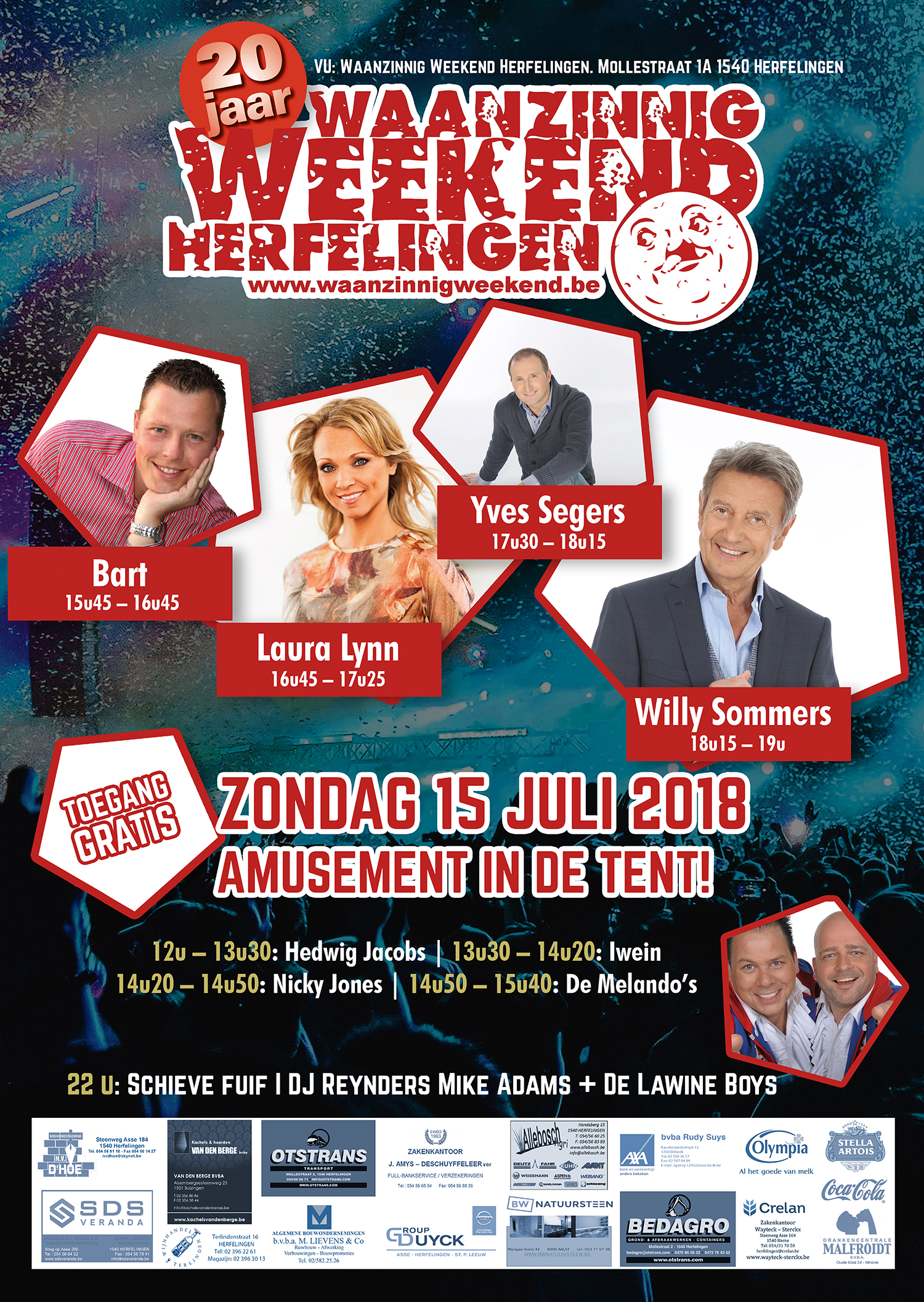 Waanzinnig Weekend Herfelingen 2018